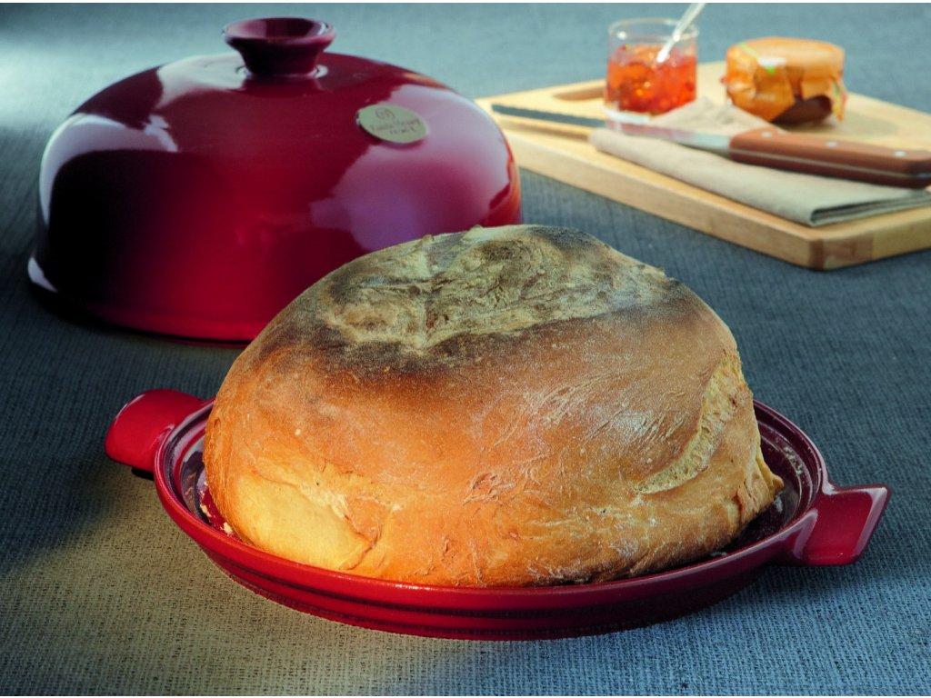 Forma do pieczenia chleb Czerwona Burgundia Emile Henry