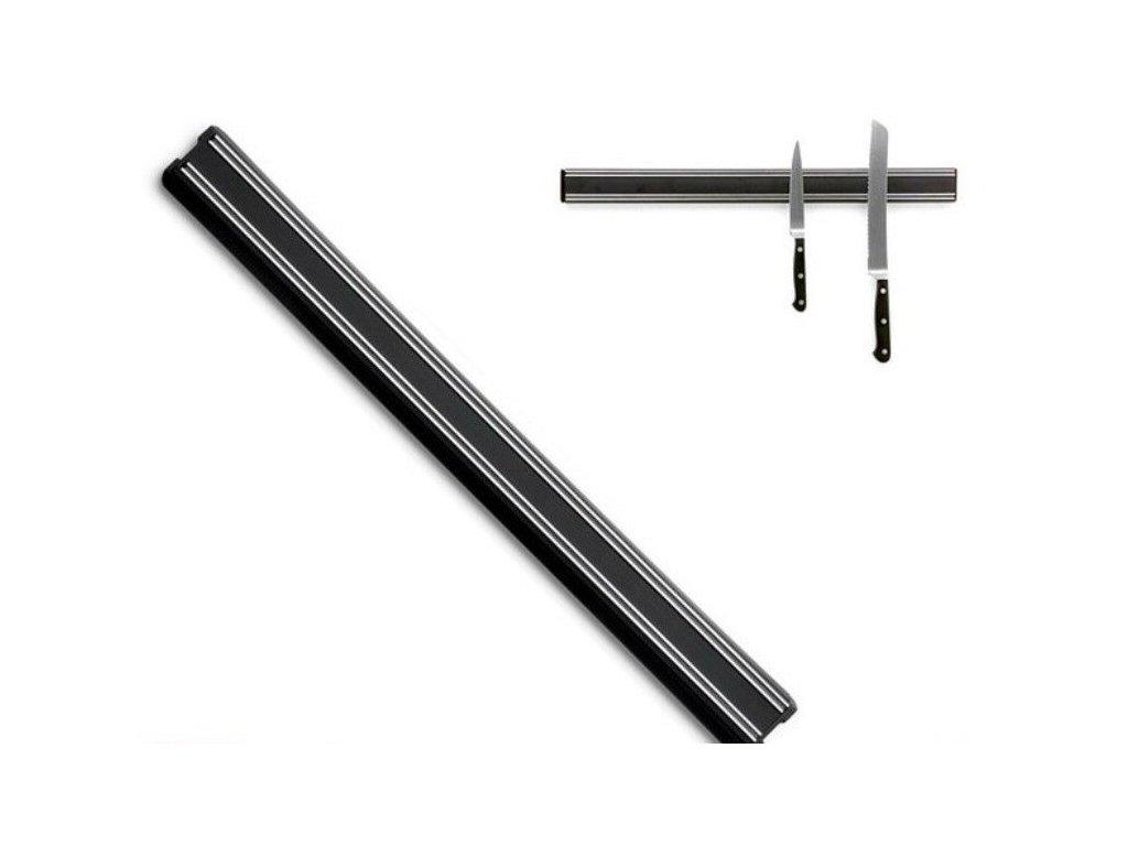 Magnetyczny pręt nożowy 35 cm czarny WÜSTHOF