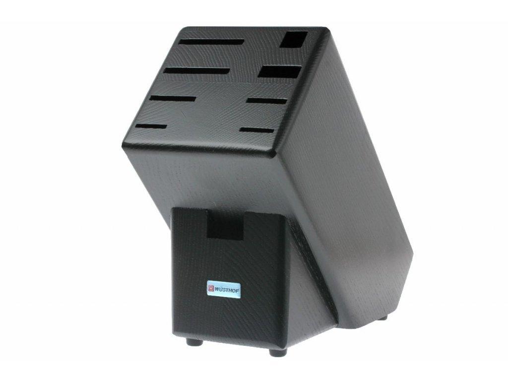 Blok na noże drewniany Classic dla 9 sztuk czarny WÜSTHOF