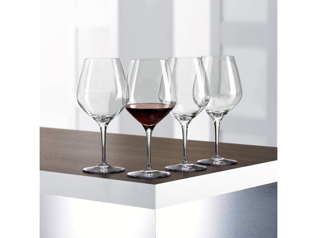 Zestaw 4 kieliszków do czerwonego wina Burgundy Authentis Spiegelau