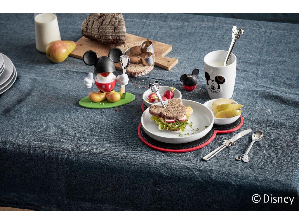 Zestaw szpilek koktajlowych z talerzem Mickey Mouse