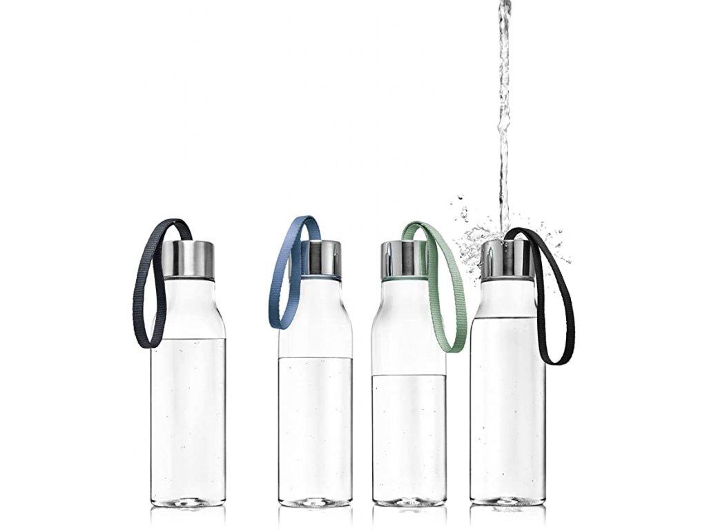 Butelka na napoje 0,5 l z czarnym paskiem Eva Solo