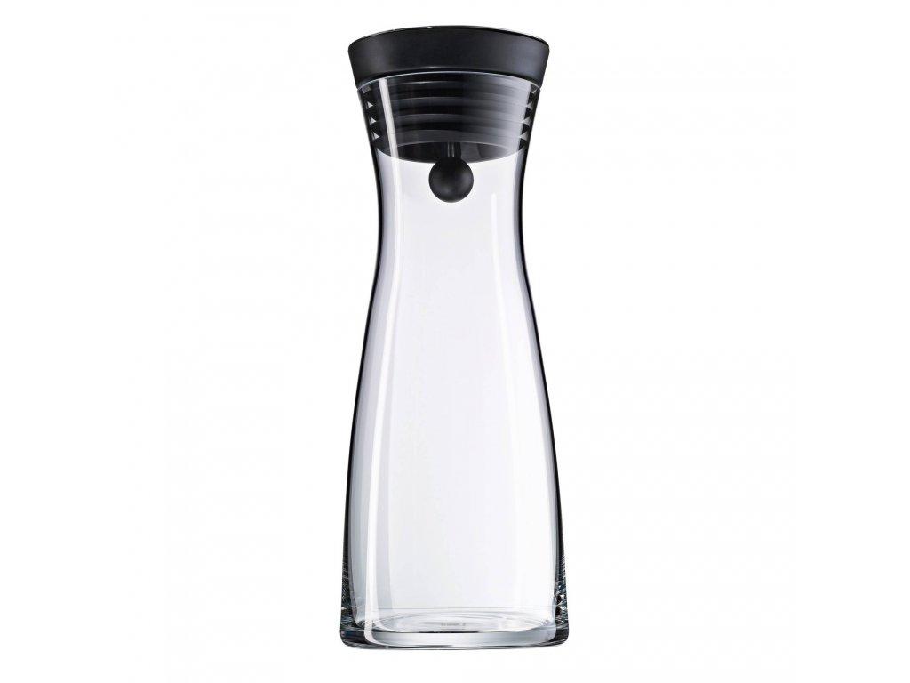 Zestaw karafka na wodę czarna Bassic 1,0 l + 2 szklanki WMF