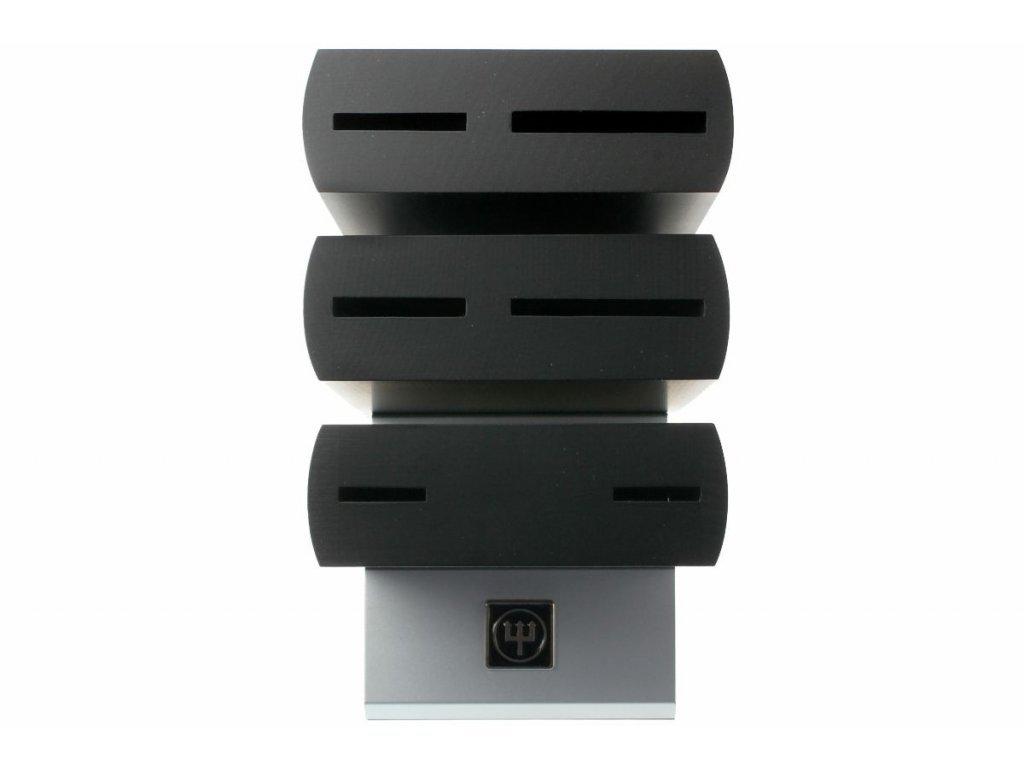 Blok na noże drewniany Ikona na 6 sztuk czarny WÜSTHOF