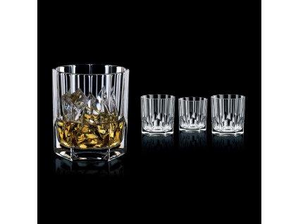 Zestaw 4 kieliszków 4 o whisky Aspen Nachtmann