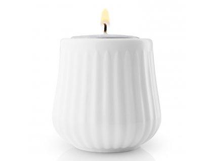 Zestaw świeczników na świeczkę herbacianą Legio Nova biały 6 cm Eva Solo