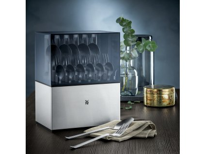Sztućce Flame Cromargan protect® z nożami z jednego kawałka stali: zestaw 30 sztuk