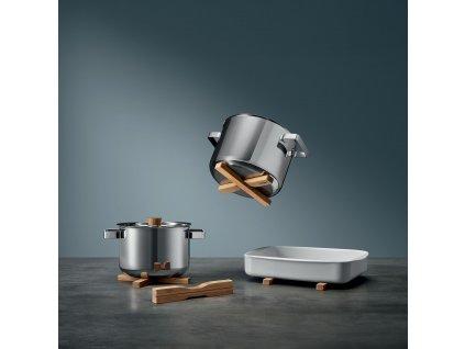 Magnetyczna podkładka pod garnek drewniana