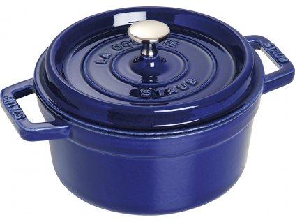 Donica okrągła, ciemnoniebieski Ø 30 cm Staub