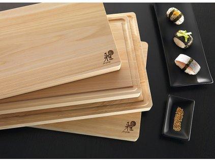 Drewniana deska do krojenia średnia