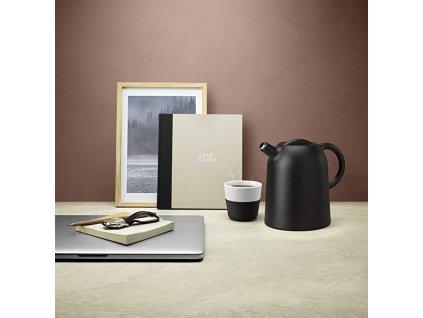 Kubki termiczne do kawy Lungo 230 ml 2 sztuki czarne