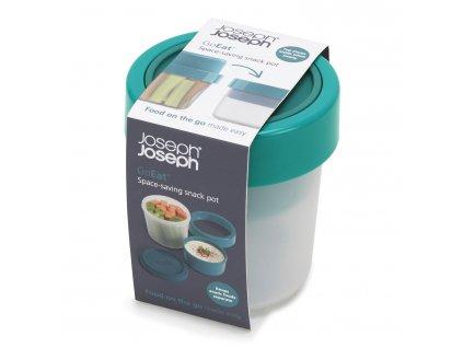 Snack box 100/240 ml 100/240 teal GoEat™ Joseph Joseph
