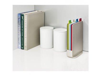 Stojak z tablicami mini 20,5 x 15 cm Silver Index™ Joseph Joseph