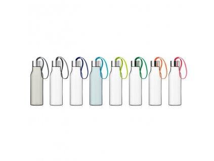 Butelka do picia 0,5 l z ciemnością niebieskim rzemieniem Eva Solo