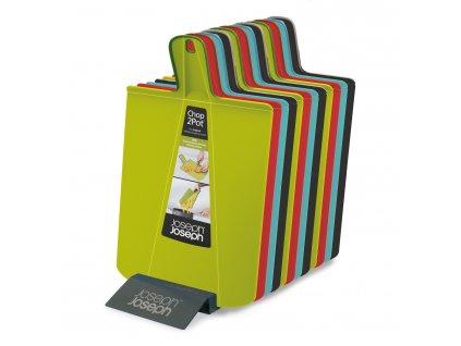Składane deska do krojenia czerwone Chop2Pot™ Small Joseph Joseph