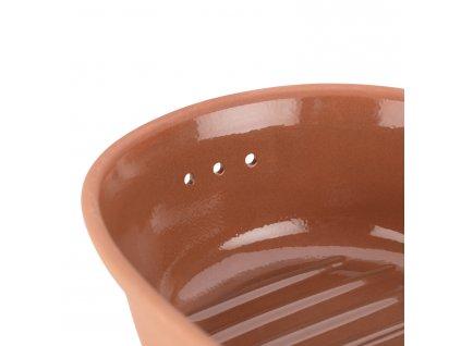 Pojemnik do przechowywania ciasto owalne terakota® Römertopf