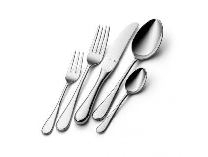 Sztućce Kent Cromargan protect® z nożami z jednego kawałka stali: zestaw 66 sztuk