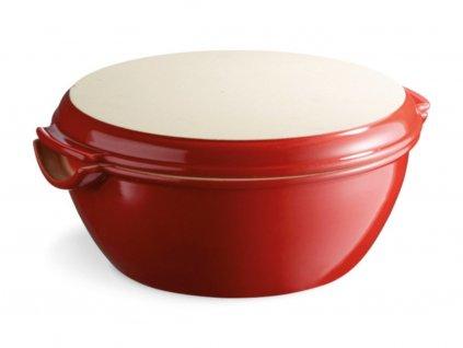 Okrągła forma do chleba Burgund czerwony 32,5 x 30 cm Emile Henry