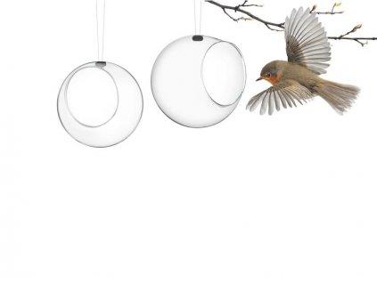 Wiszący mini karmnik dla ptaków 2 sztuki Eva Solo