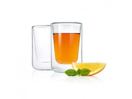 Zestaw szklanek termicznych do cappuccino 250 ml NERO