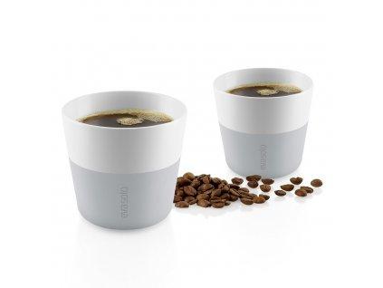 Kubki termiczne do kawy Lungo 230 ml 2 sztuki jasnoszare Eva Solo