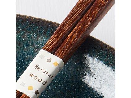 Pałeczki Chopsticks brązowe MIJ