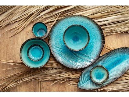 Talerz do sashimi Sky Blue 29 x 12 cm MIJ