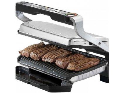 Grill elektryczny Optigrill + INOX EE GC712D34 Tefal
