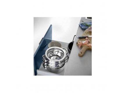 Zestaw garnków WMF Kuchnia kompaktowa 4 szt.
