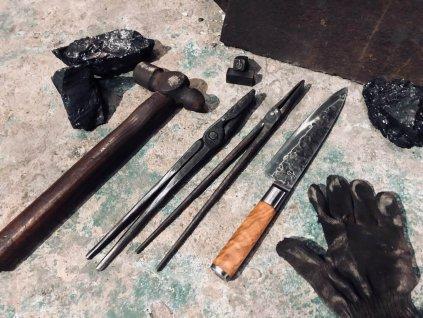 Kulinarny nóż kuty Oliwka 20,5 cm 20,5