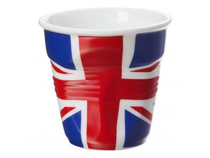 Filiżanka do espresso 8 cl 8 z Brytyjczykami flaga Froissés REVOL