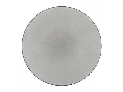Talerz na danie główne Ø 28 cm pieprzny biała Equinoxe REVOL
