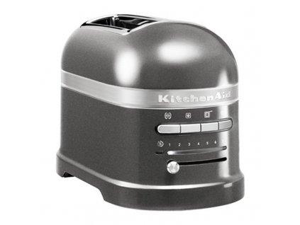 Toster na 2 kromki Artisan srebrnoszary KitchenAid