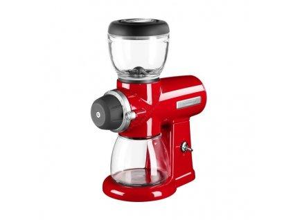 Młynek do kawy Artisan króLionska czerwień KitchenAid