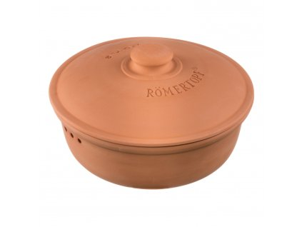 Naczynie do przechowywania pieczywa średnie okrągłe, terracotta®