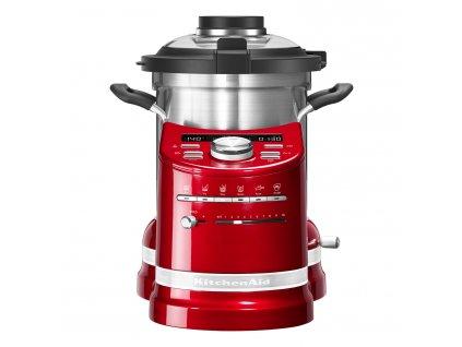 Robot kuchenny gotujący królewska czerwień KitchenAid