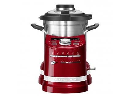 Robot kuchenny gotujący czerwony metalik KitchenAid