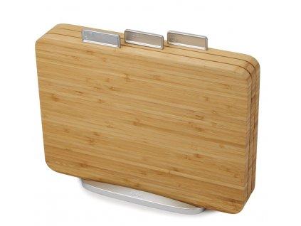 Bambusowa deska do krojenia z wypustkami Cut&Carve™ Plus duża