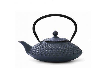 Żeliwny czajnik Xilin Bredemeijer niebieski 800 ml