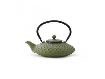 Czajnik żeliwny Xilin Bredemeijer zielony 800 ml