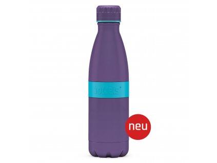 Butelka TWEE+ Boddels fioletowy/turkusowy 500 ml