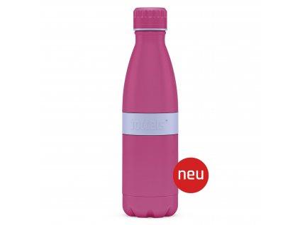 Butelka TWEE+ Boddels róż/lawenda 500 ml