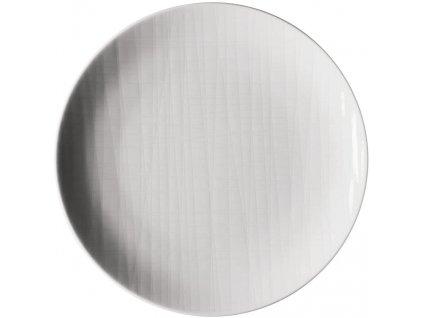 Płytki talerz Mesh Rosenthal biały 19 cm