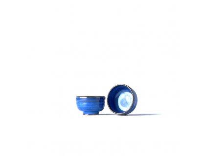 Miska na sake niebieska 80 ml MIJ