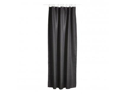 Zasłona prysznicowa 180 x 200 cm black LUX
