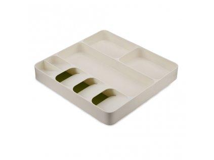 Organizer do szuflady DrawerStore Compact 85128 Joseph Joseph biały/zielony