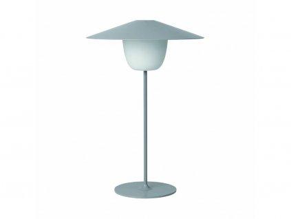 Przenośne, stojące na podłodze Lampa LED Blomus średni siwy