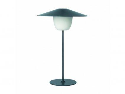 Przenośne, stojące na podłodze Lampa LED Blomus średni czarny