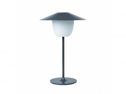 Przenośne, stojące na podłodze Lampa LED Blomus niski ciepły szary