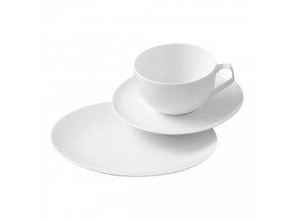 Kawa serwis Tac Rosenthal biały 18 szt.